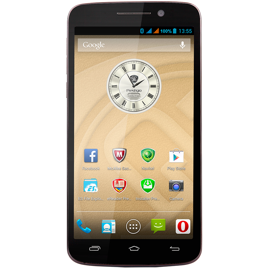 Prestigio MultiPhone 7600 Dual Sim grey-экран