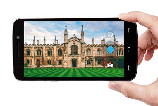 Prestigio MultiPhone 7600 Dual Sim grey-камера