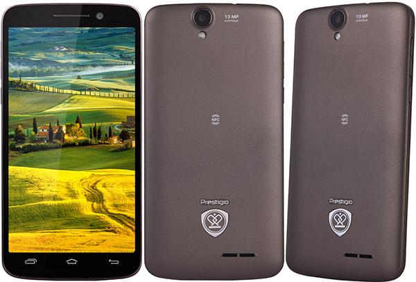 Prestigio MultiPhone 7600 Dual Sim grey-ракурсы