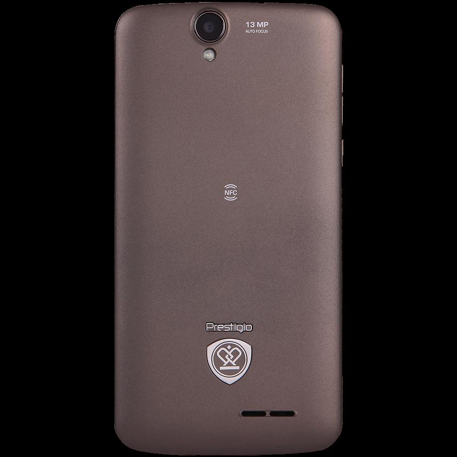 Prestigio MultiPhone 7600 Dual Sim grey-задняя панель