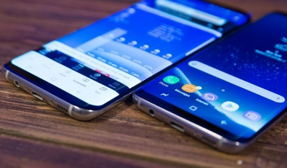 Презентация Samsung Galaxy S8 репортаж с места событий