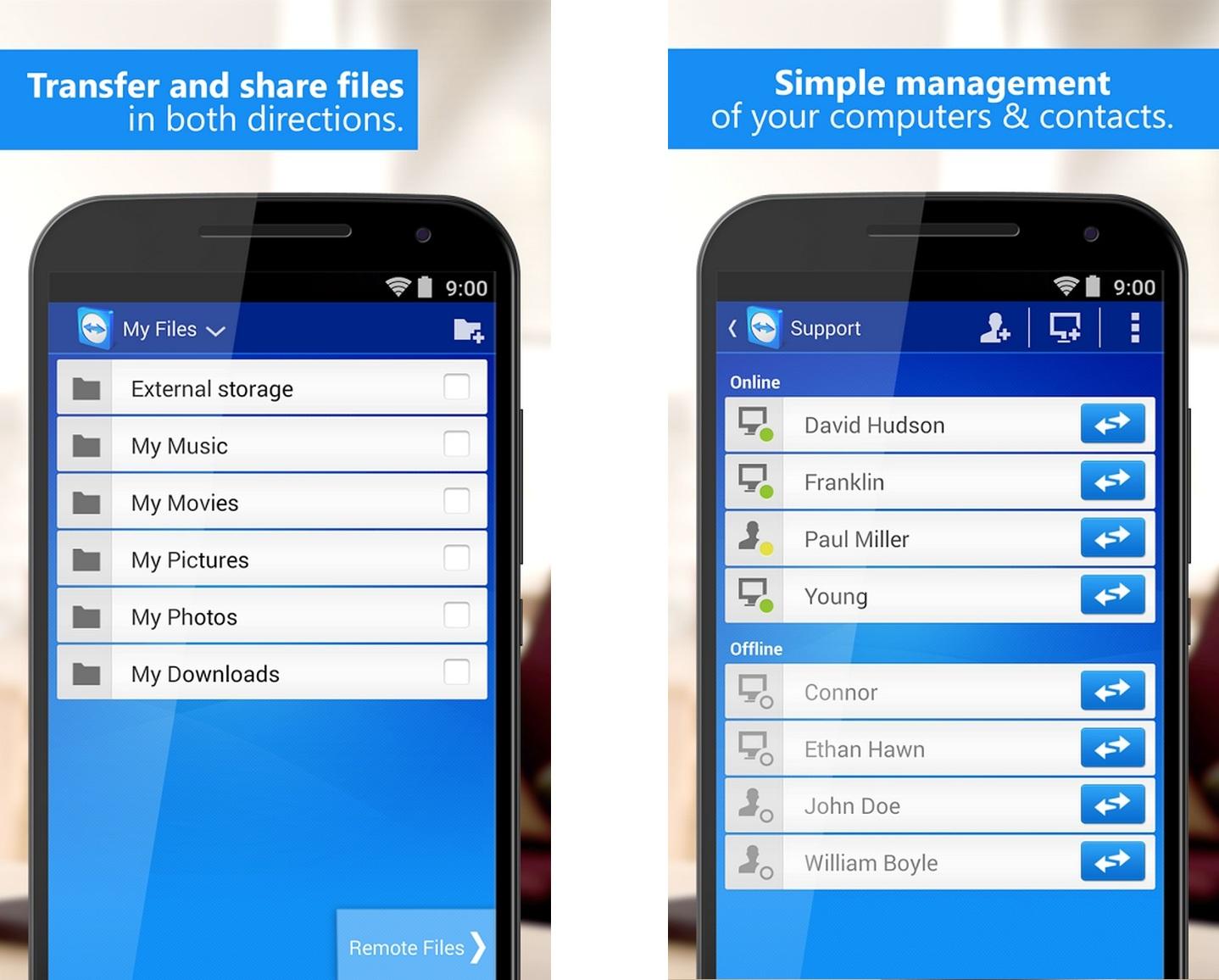 Приложения для Android - TeamViewer (2)