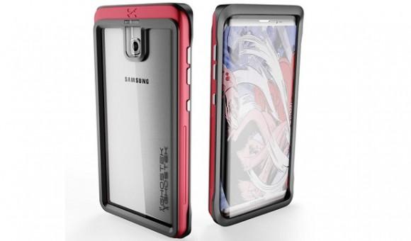 Производитель чехлов Ghostek показал, как будет выглядеть Samsung Galaxy S8