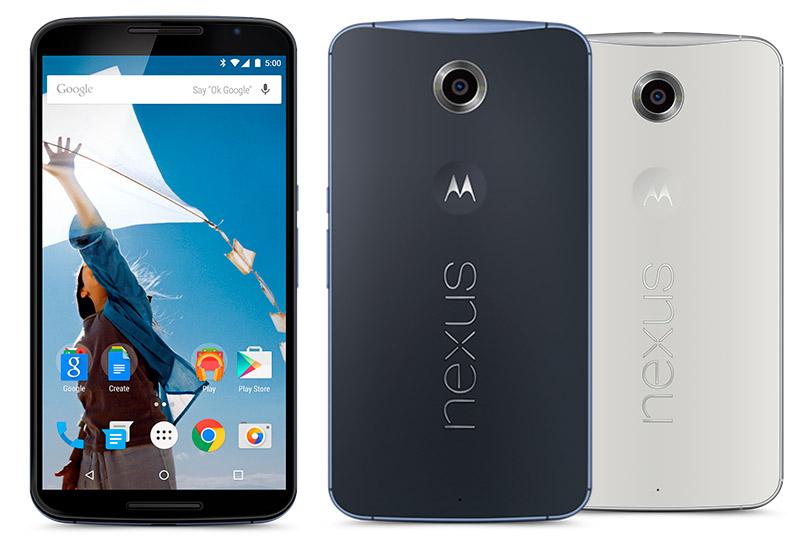 Quad HD-смартфоны - Google Nexus 6