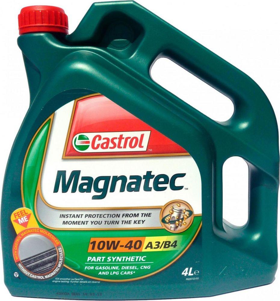 Рейтинг моторных масел экспертное мнение - Castrol Magnatec 10W-40