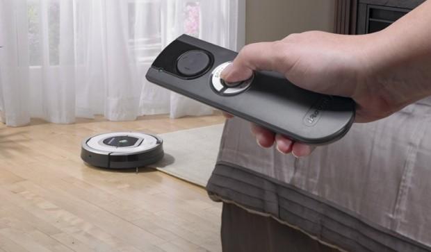Робот-пылесос — верный помощник по уборке – Управление с помощью пульта ДУ