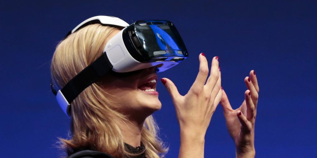 Шлем виртуальной реальности-работа пример
