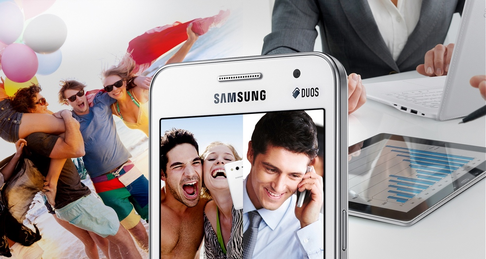 Samsung G355H Galaxy Core 2 - Две сим-карты