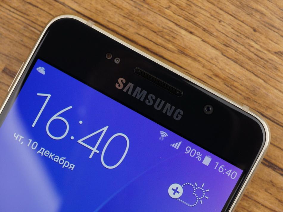 Samsung Galaxy A3 (2016)-экран фото