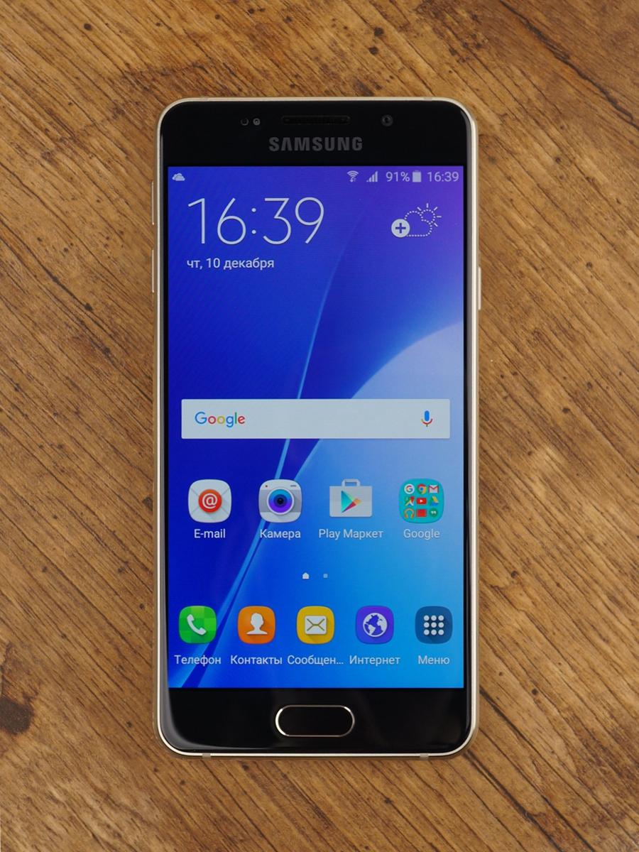 Samsung Galaxy A3 (2016)-экран