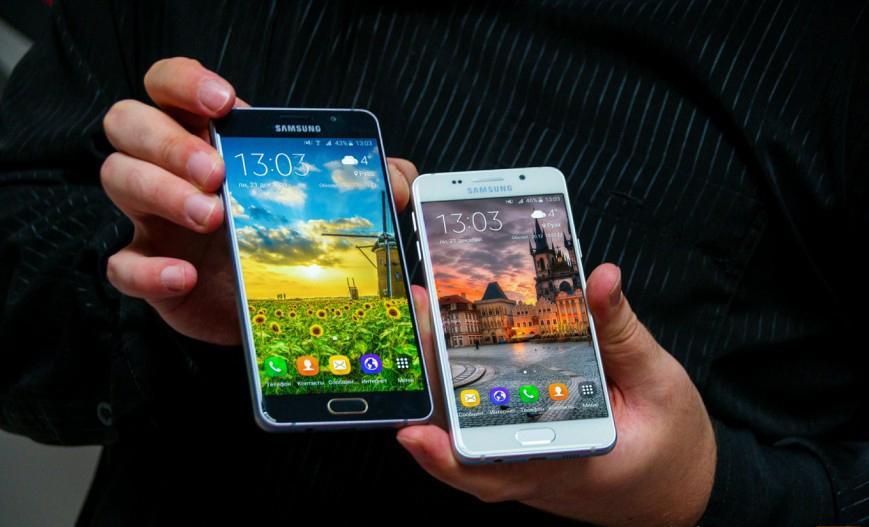 Samsung Galaxy A3 и A5 (2016)-дизайн