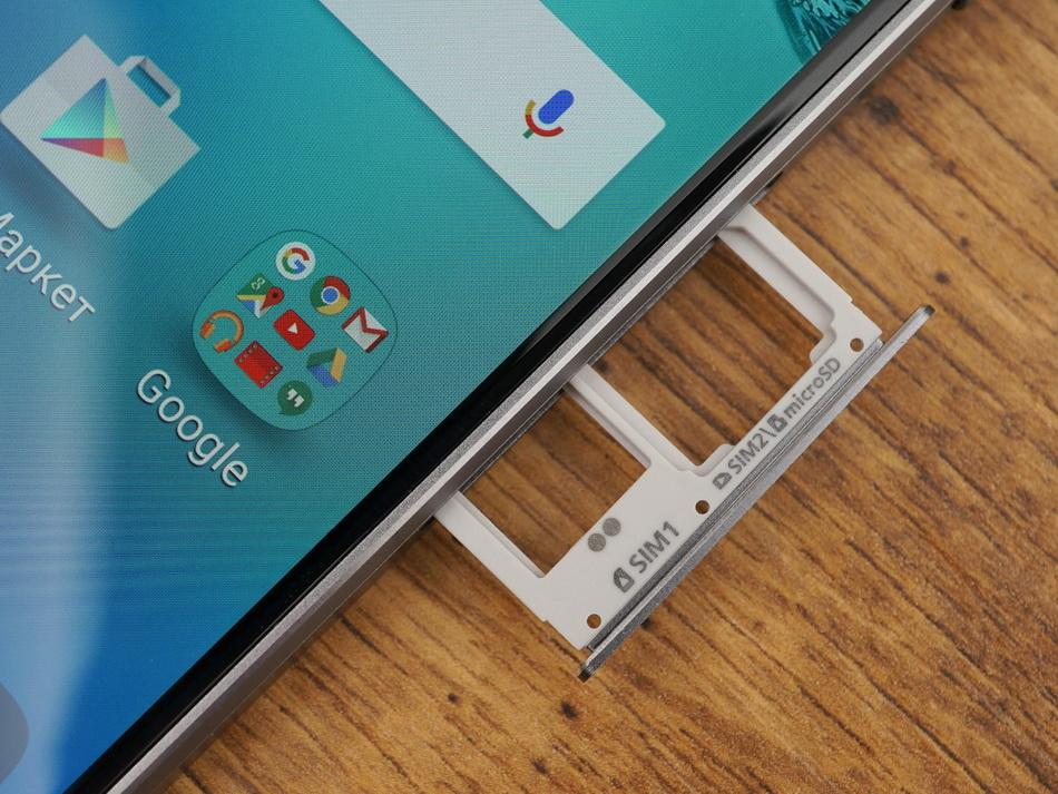 Samsung Galaxy A5 (2016)-слоты