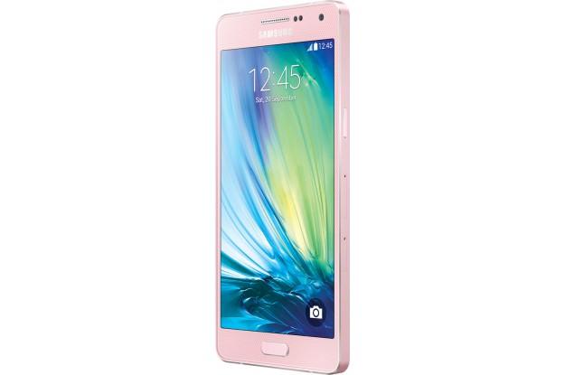 Samsung Galaxy A5 A500 pink-экран