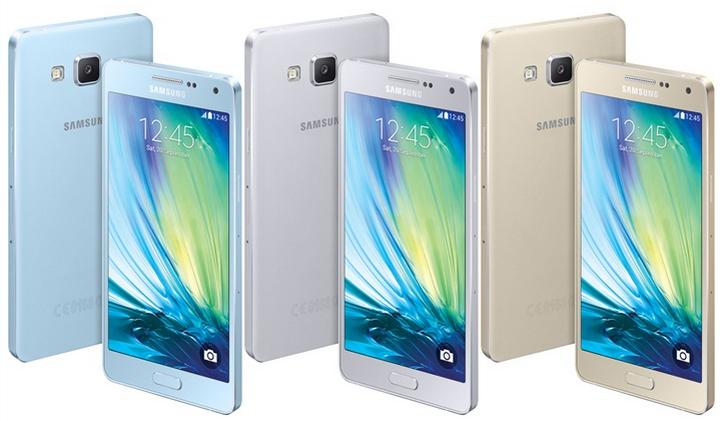 Samsung Galaxy A5-расцветки