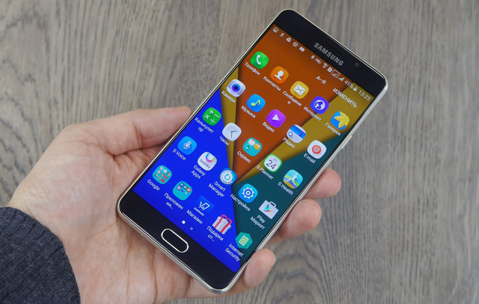 Samsung Galaxy A7 (2016)-дизайн модели
