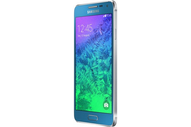 Samsung Galaxy Alpha G850F Blue-угол обзора