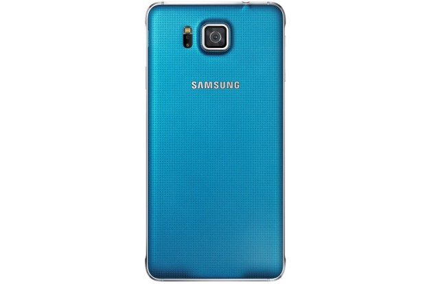 Samsung Galaxy Alpha G850F Blue-задняя панель