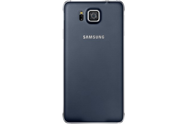 Samsung Galaxy Alpha G850F Charcoal Black-задняя панель