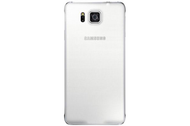 Samsung Galaxy Alpha G850F Dazzling White-задняя панель