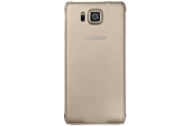 Samsung Galaxy Alpha G850F Frosted Gold-задняя панель