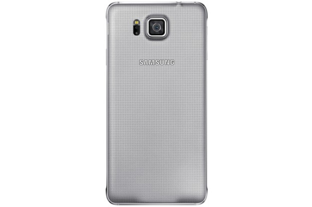 Samsung Galaxy Alpha G850F Sleek Silver-задняя панель