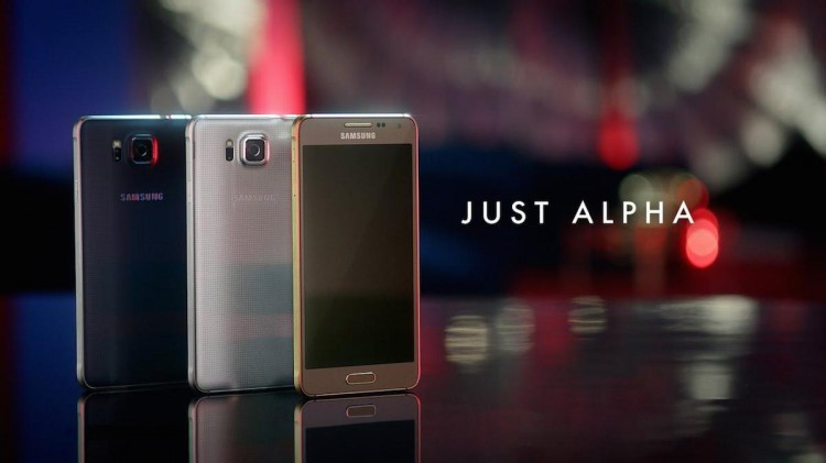 Samsung Galaxy Alpha-JUST ALPHA