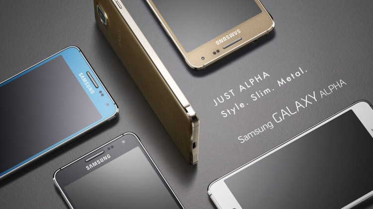 Samsung Galaxy Alpha-дизайн