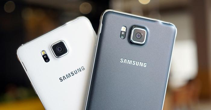 Samsung Galaxy Alpha-лицевая панель