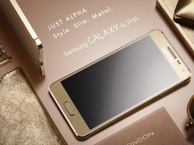 Samsung Galaxy Alpha-передняя панель