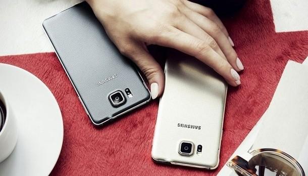 Samsung Galaxy Alpha-внешний вид