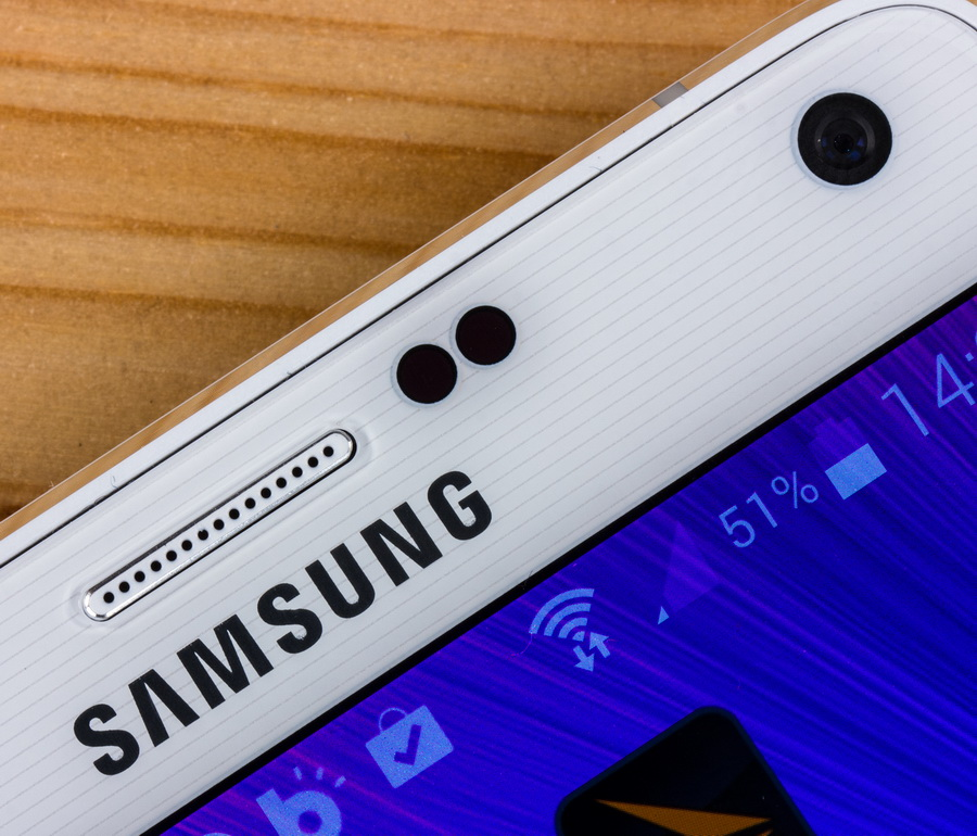Samsung Galaxy Note 4 - Фронтальная камера