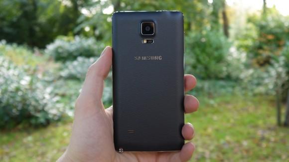 Samsung Galaxy Note 4- Задняя панель