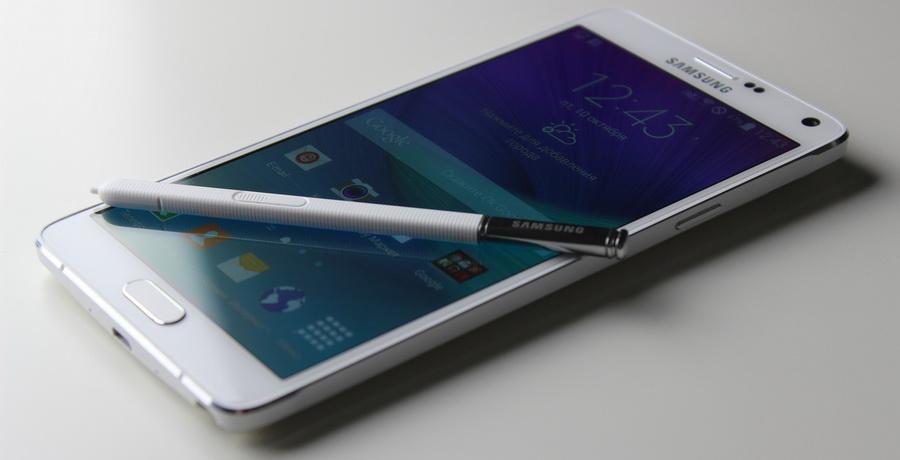 Samsung Galaxy Note 4-Дисплей и стилус