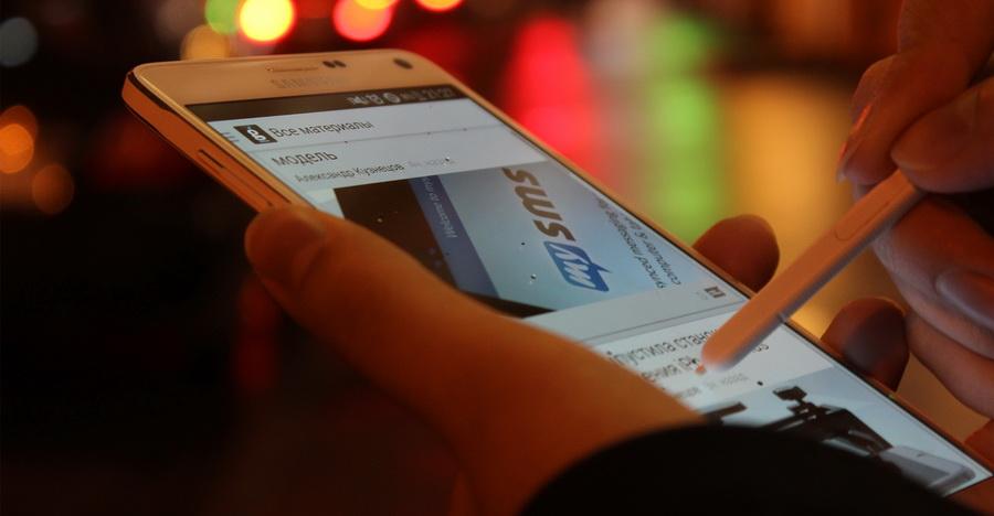 Samsung Galaxy Note 4- Работа со стилусом