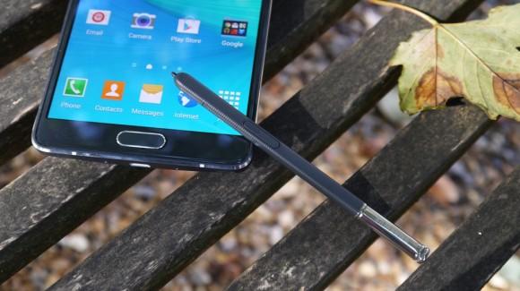 Samsung Galaxy Note 4- Дисплей со стилусом
