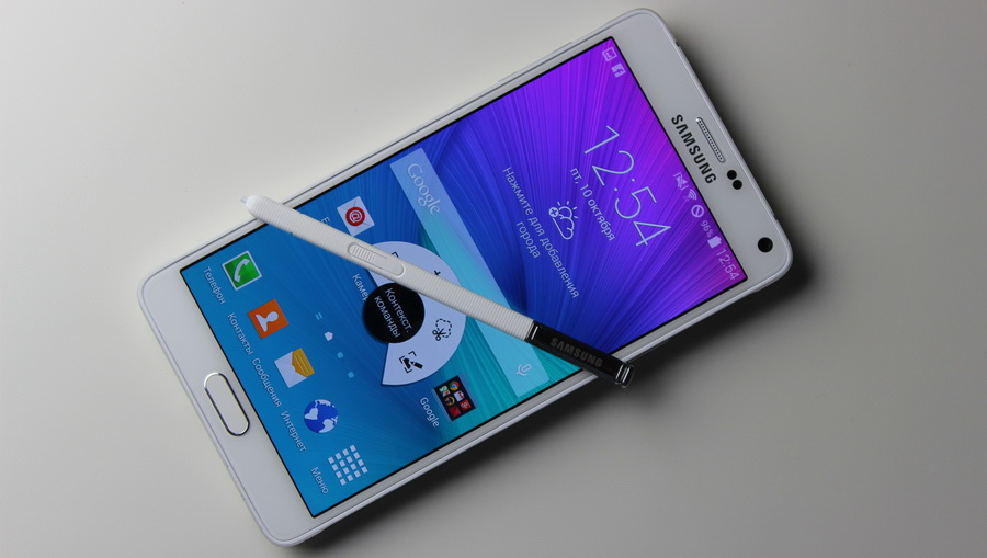 Samsung Galaxy Note 4-Смартфон и стилус