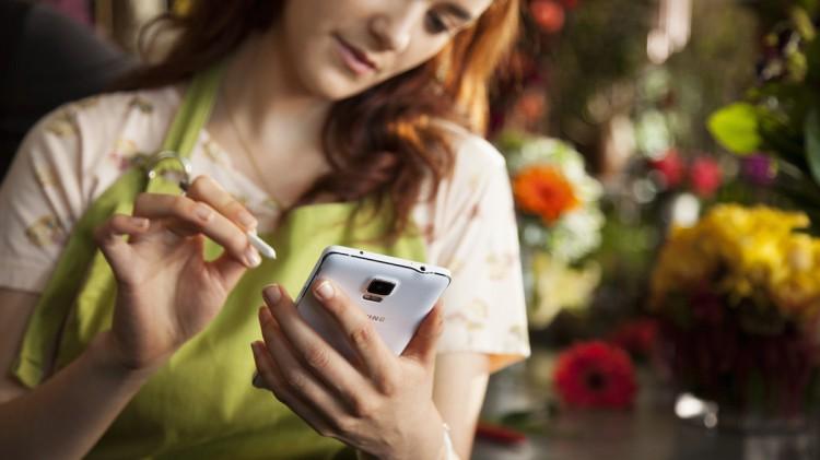 Samsung Galaxy Note 4-В работе