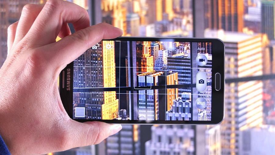 Samsung Galaxy Note 4-фотосъемка