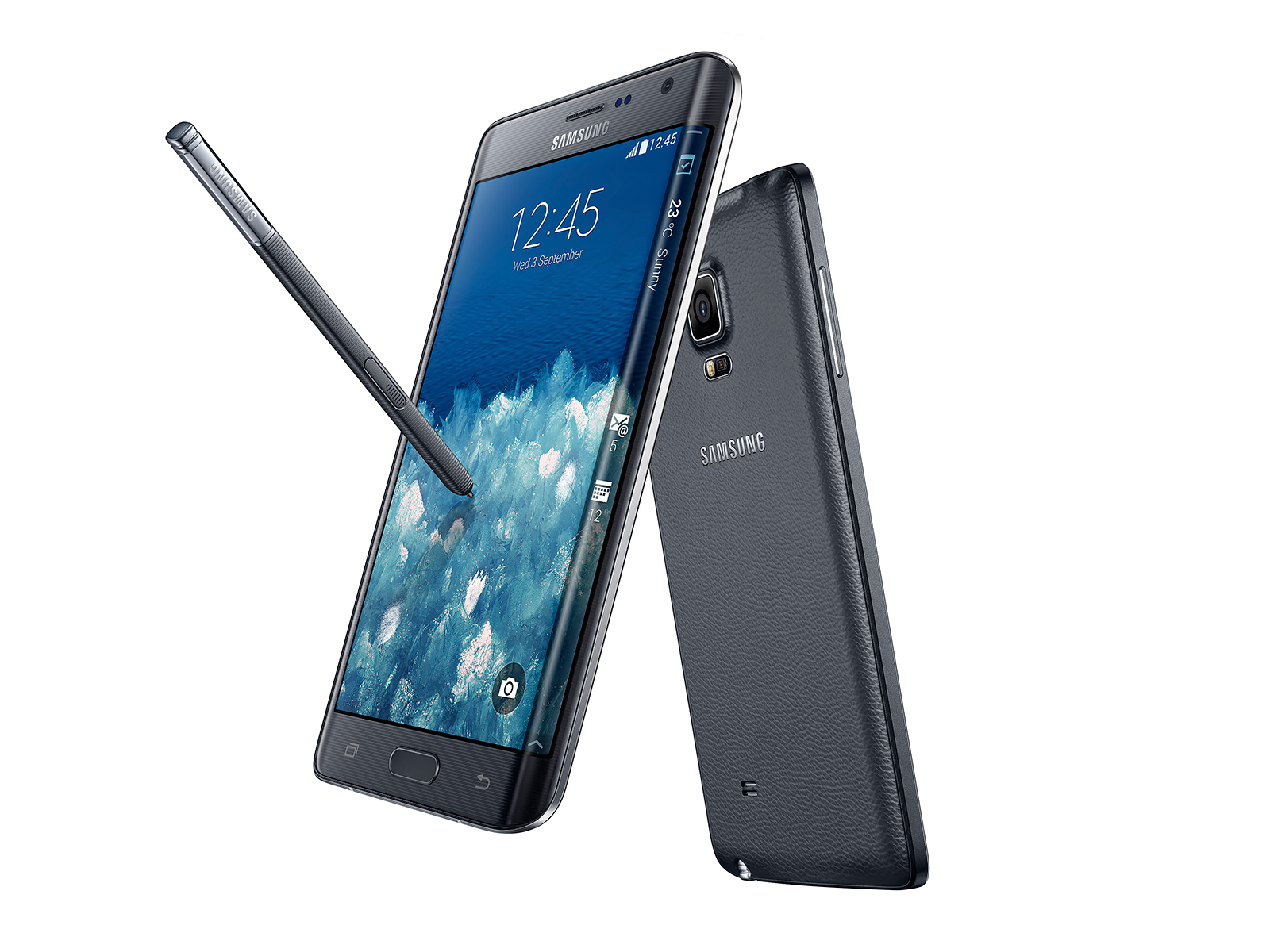 Samsung Galaxy Note Edge - черный цвет