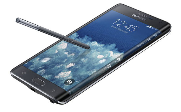 Samsung Galaxy Note Edge-экран
