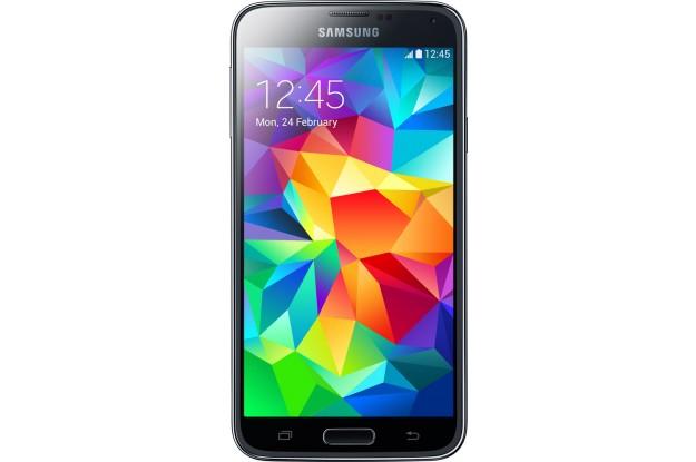Samsung Galaxy S5 - вид спереди
