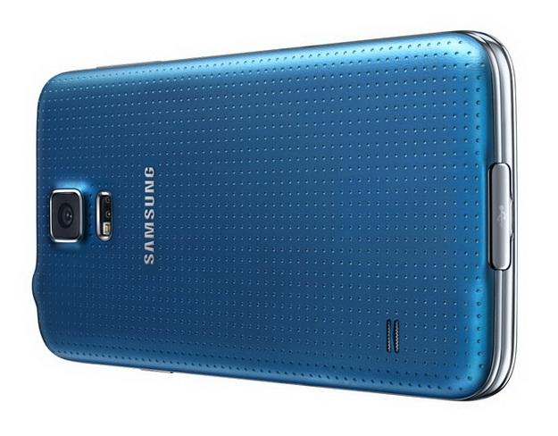Samsung Galaxy S5 - вид сзади