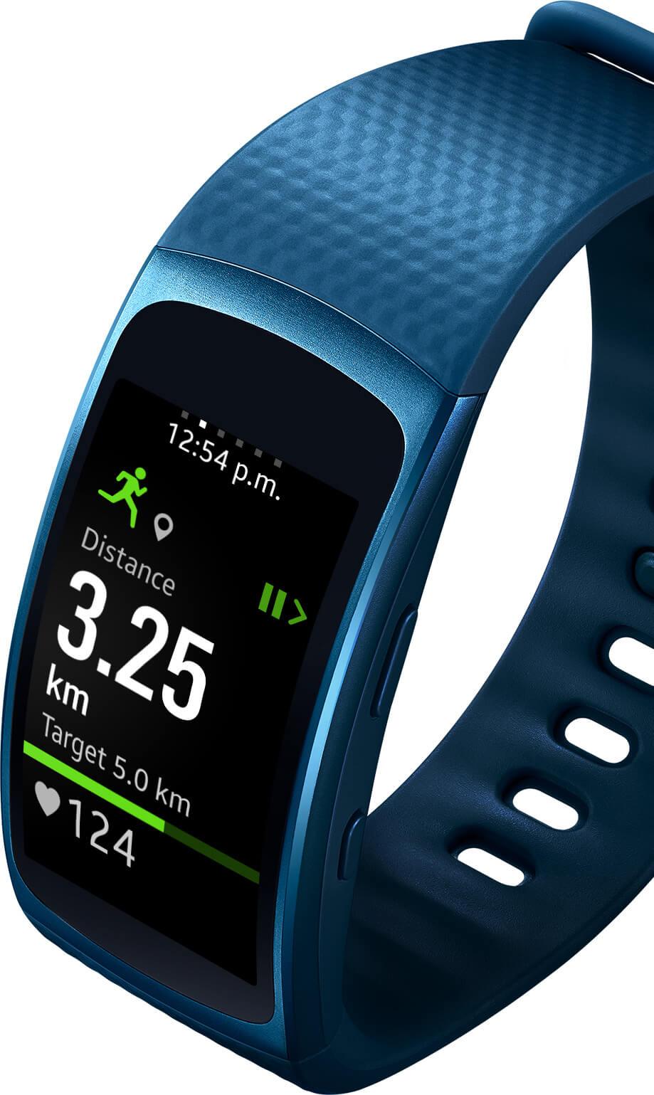 Samsung Gear Fit 2-1.5-дюймовый экран