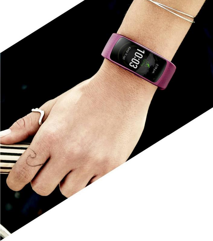 Samsung Gear Fit 2-фитнес-браслет на руке