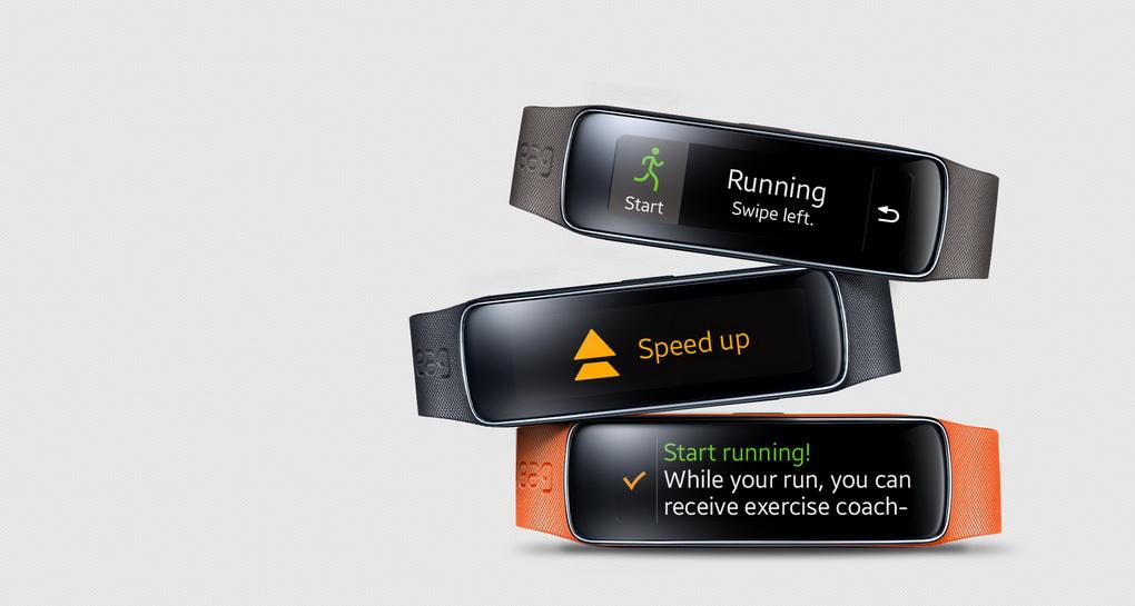 Samsung Gear Fit-персональный тренер