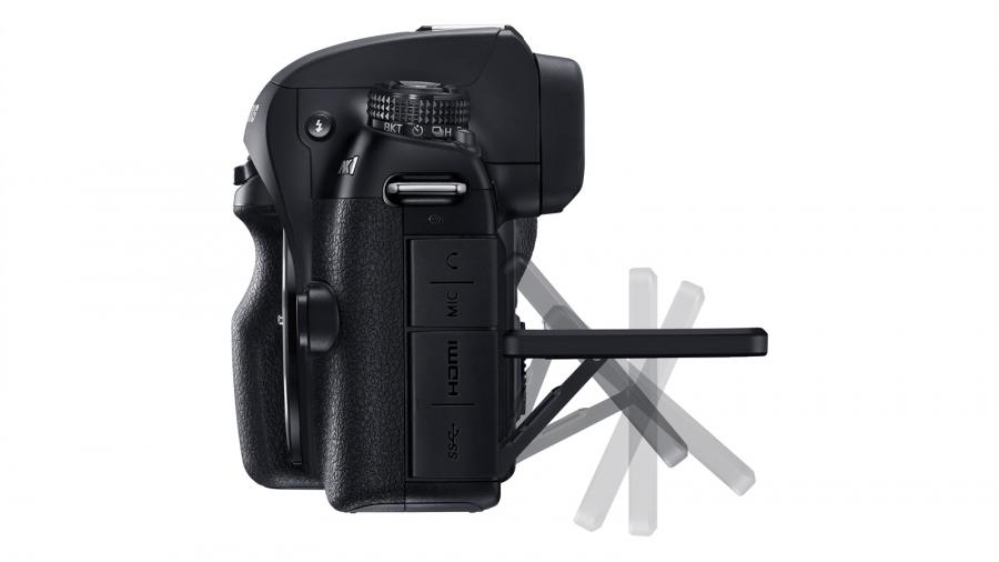 Samsung NX1-положения дисплея