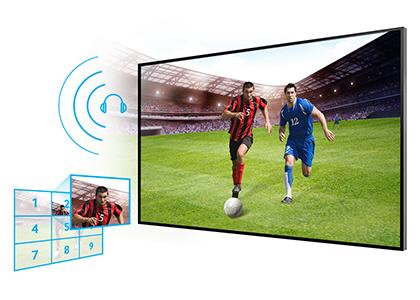 Samsung PE43H4000AKXUA - Football Mode