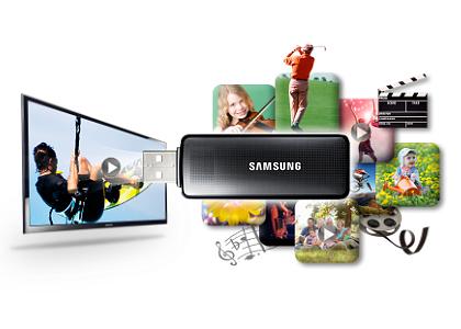Samsung PE43H4000AKXUA - USB-поключение