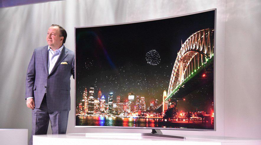 Samsung-S UHD TV фото с выставки
