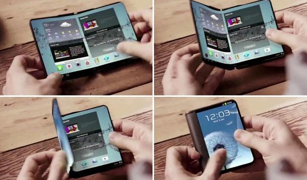 Samsung работает над двумя совершенно разными складными смартфонами